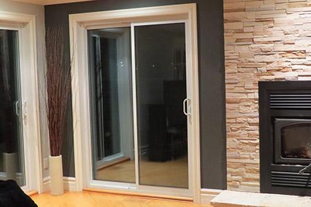Porte Patio en PVC