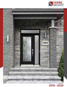 Porte d'entrée en acier Verre Sélect Montréal