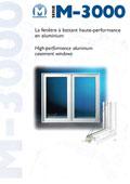 Brochure de fenetre en aluminium Maisonneuve