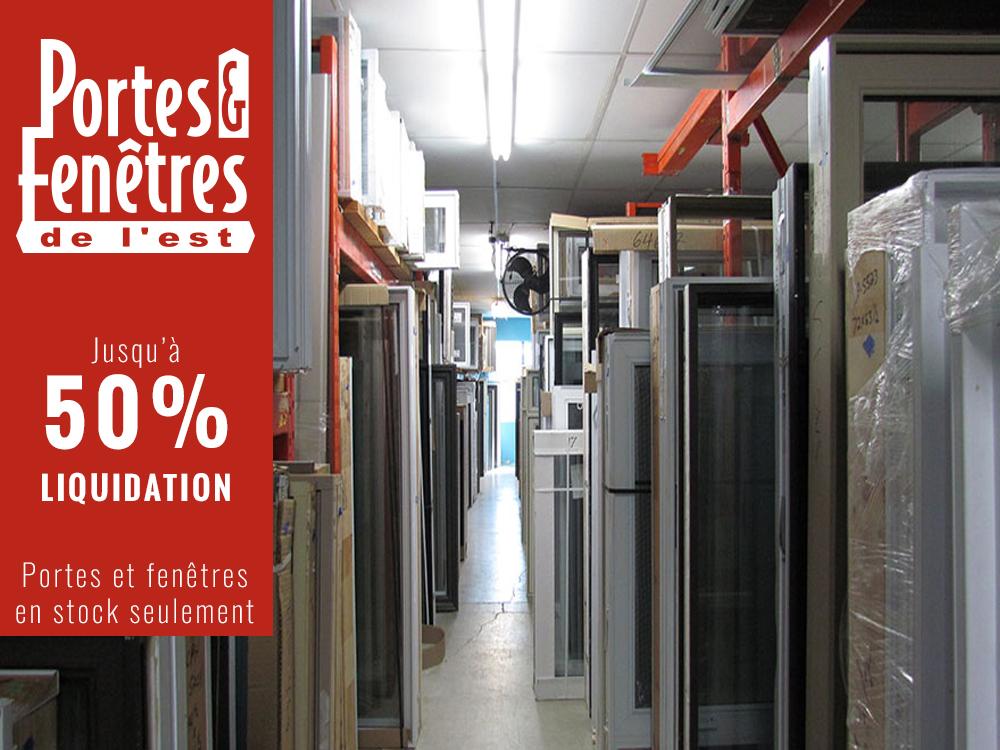 Cnetre de liquidation de portes et fenêtres à Montréal